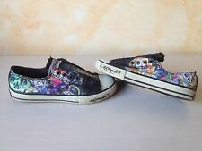 SCARPE SHOES ED HARDY TATTOO NERO EUR 38