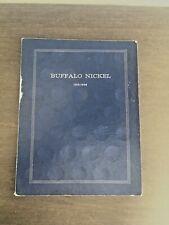 Buffalo Nickels 1913-1938 Harris Blue Folder