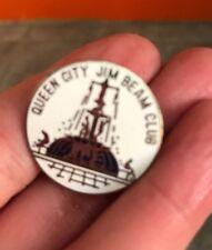 "JIM BEAM "" QUEEN CITY "" CLUB Pin ~ FREE SHIPPING!"