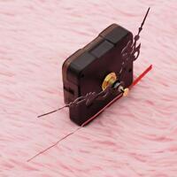 5x Wanduhr Quarz Uhrwerk Mechanismus Reparatur Set Diy Hände Kit Schwarz Te Q1Y5