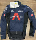 Castelli Alpha ROS Jacket Dark blue Ineos Grenadier Brand New With Tags Small