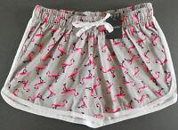 Flamingo Damen Shorts Hotpants Sommer Freizeit Hose kurz Baumwolle Gr 32 Primark