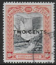 British Guiana stamps 1889 SG 223a ERROR: No Stop after Cents CANC VF