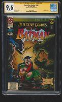 Detective Comics #660 - CGC SS 9.6 NM+ - DC 1993 - Signed Scott Hanna! Batman!