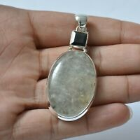 Gemstone Indian Handmade Jewelry 925 Solid Sterling Silver Pendant