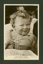 H.R.H. Prince Edward. Son of The Duke & Duchess of Kent - Vintage RP Postcard