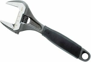 """Bahco 9031 Adjustable Spanner Wrench 200mm 8"""" 8 Inch 38mm Extra Wide Jaw"""