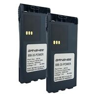 2X PMNN4018AR Battery For MOTOROLA CT150, CT250, CT450, CT450LS, GP308  US SHIP