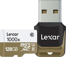 Lexar Professional 128 GB Class 10 High Performance 1000x microSDXC Uhs-ii Memor