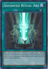 Yugioh Cards Advanced Ritual Art The Secret Forces 1st Edition THSF-EN052
