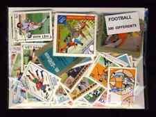 Football 300 timbres différents oblitérés