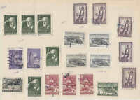 FINLAND SPECIALIST CANCELS COLLECTION LOT 1940s-1950s 7 SCANS $$$$$$$