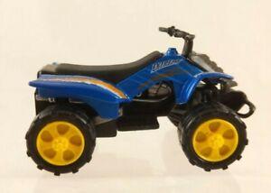 "Greenbrier Int Blue/Orange/White ATV 4-Wheeler Vehicle 3"" Long"