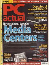 PC Actual Enero 2006 Nº 181 - EN BUEN ESTADO!!!