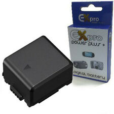 2Ex-Pro Digital Camera Battery VW-VBG070 VWVBG070 for P@ HDC-HS9 HDC-HS20