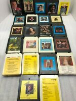 LOT OF 23 - 8 TRACK TAPES