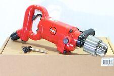 """Suntech 5/8"""" Industrial D-Handle Pneumatic Air Drill 1.1 HP 800 RPM Jacobs Chuck"""