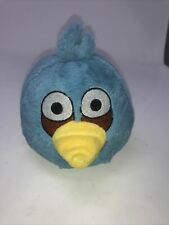 "Angry Birds Blue Jay 5"" Plush Stuffed Animal Doll No Sound Jim Commonwealth"
