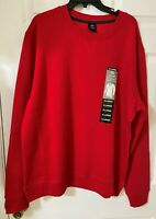 NWT Men's Round Neck LEG3ND Red Sweater size XL. 60% Cotton, 40% Polyester