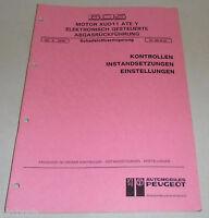 Werkstatthandbuch Motor XUD11 ATE Y Abgasrückführung Peugeot 605 05/1991