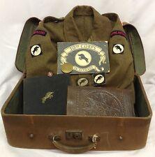 Rare WW2 30th Corps Royal Artillery Officers Grouping,Battledress, Books, Badges