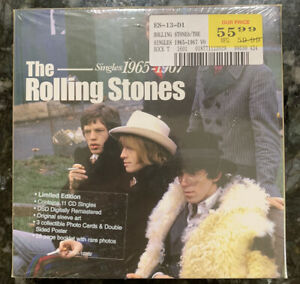 The Rolling Stones - Singles 1965-1967 (CD, 2004, 11 Discs) Limited Box Set