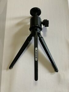Bogen Manfrotto Tabletop Tripod with Mini Ballhead 3009 Vintage MADE IN ITALY