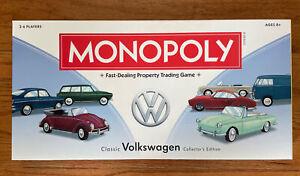 2013 Classic Volkswagen Collectors Edition Monopoly