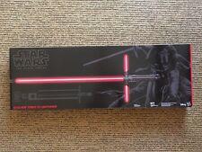 Star Wars The Black Series Kylo Ren Force Fx Lightsaber Hasbro