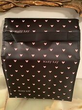 New Mary Kay Travel Roll Up Makeup Bag Heart  Brand