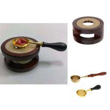 Set of 3pcs Wax Bead Seal Melting Spoon Furnace Heater Sealing Stamp Kit