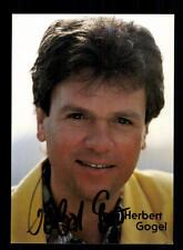 Herbert Gogel Autogrammkarte Original Signiert # BC 94052