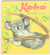 Vintage Children's Tell a Tale Book KOBO THE KOALA BEAR
