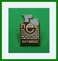Pin's lapel pin  pins NEC BATIMENT NOUVELLE ENTREPRISE DE CONSTRUCTION HELIUM