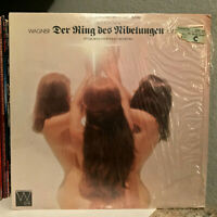 "RICHARD WAGNER - Der Ring Des Nibelungen - 12"" Vinyl Record LP - VG (Cheesecake)"