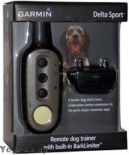 Garmin Delta Sport Remote Electronic Training Collar + BarkLimiter Bark Limiter