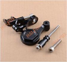 Black Steering Damper Stabilizer Bracket For Yamaha YZF R6 2006-2014 R1 09-12