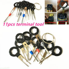 Terminal Removal Car key Tool Wiring connector Pin Release Extractor Puller 11pc
