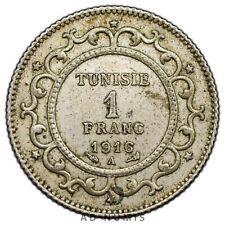 1 franc 1916 A Paris Tunisie - Argent