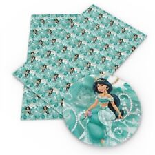 "Jasmine Princess FAUX LEATHER SHEET 9"" X 12"" 22X30CM  PRINTED A4 1079212"