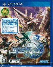 PS Vita Phantasy Star NOVA w/ limited bonus DLC for PSO2 PC Online PSV JAPAN F/S