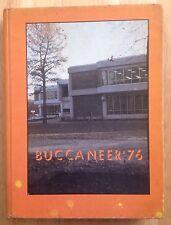 1976 EAST CAROLINA UNIVERSITY YEARBOOK, THE BUCCANEER, GREENVILLE, NC