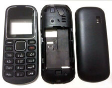 For Nokia 1280 classic New Full Bezel Housing Cover Case Body Keyboard Black