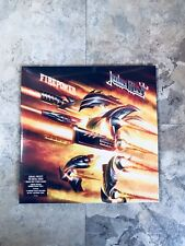 Judas Priest Firepower ORANGE BLACK vinyl record limited 2Lp Metal