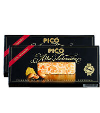 2x Turron de Alicante PICÓ 150g each - Hard Nougat Supreme quality of Spanish