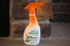NEW TROPICLEAN NATURAL FLEA & TICK SPRAY FOR DOG & BEDDING KILLS FLEA/TICKS 16OZ