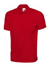 Mens Womens Soft 100% Cotton Jersey Poloshirt Casual Leisure Work Polo Shirt LOT