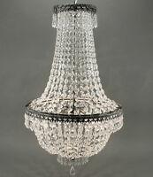 Noble LUSTRE CRISTAL 65cm korbleuchter plafonnier lustre en cristal NEUF