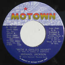 "Michael Jackson 7"" lueur matinale 1973 USA Comme neuf!"