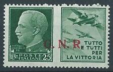 1944 RSI PROPAGANDA DI GUERRA 25 CENT VERONA MNH ** - RR13729